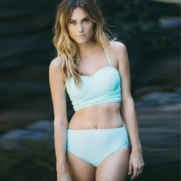 Pin-up Bikini Top, Mint