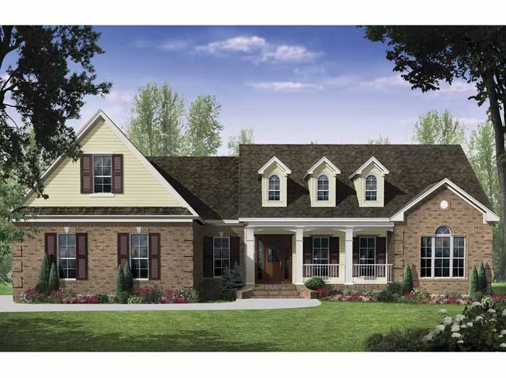 home plan is a gorgeous 2401 sq ft 2 story 3 bedroom 2 bathroom plan influenced by french country style architecture