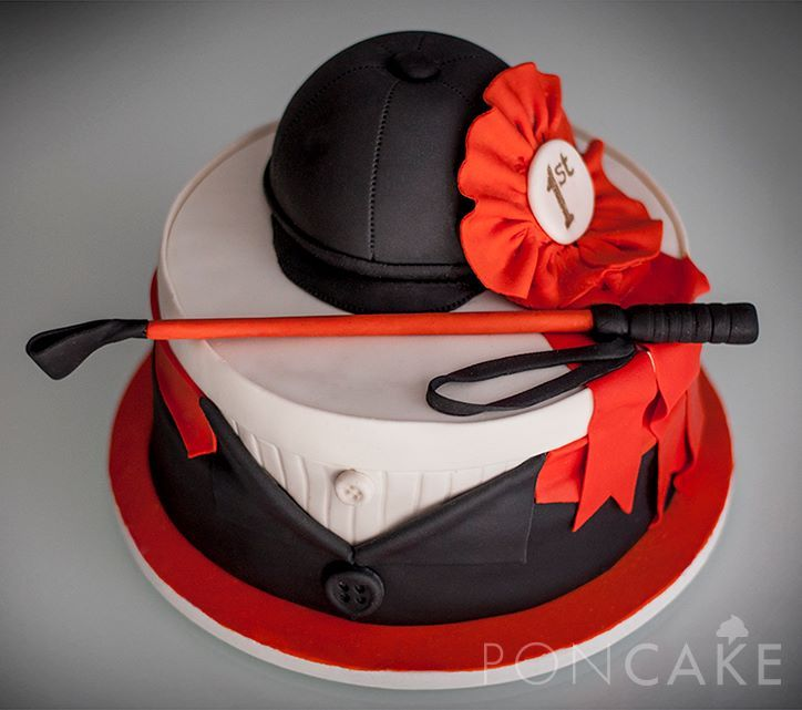 equestrian cake for devon or laura