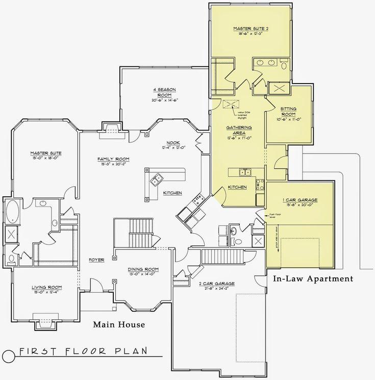 Best 25 grandma pods ideas on pinterest for Grandma house plans