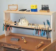 JEWELERS SHELFMATE WORKBENCH TOOL HOLDER New