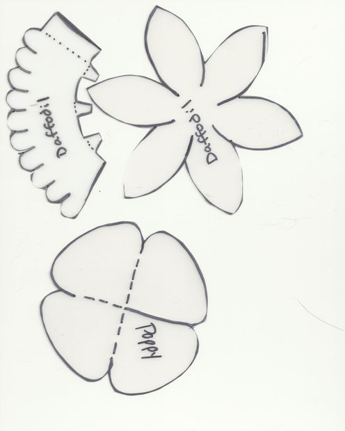 Daffodil petal template mostrar todos los art culos for Template of a daffodil