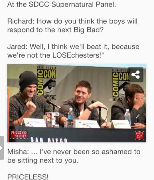 Oh Jared... :D