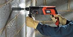 KD860KA Pneumatic Hammer Drill  20mm Pneumatic Hammer Drill Kit  #BlackandDeckerIndiaProducts #Powertools #HammerDrill #CordedDrills http://blackanddeckerindia.in/