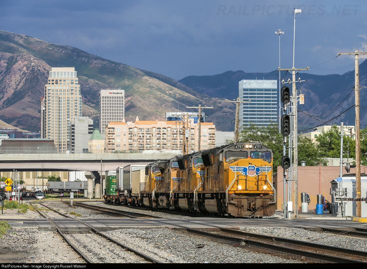RailPictures.Net Photo: UP 4797 Union Pacific EMD SD70M at Salt Lake City, Utah by Russell Watson