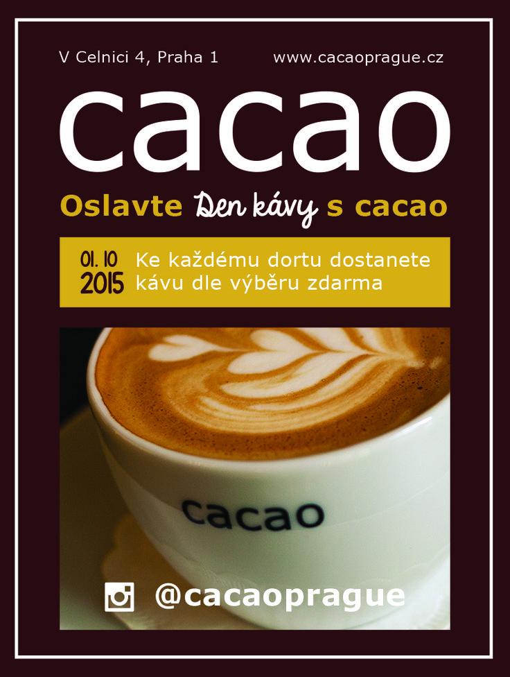 oslavte s námi mezinárodní den kávy v #cacaopraha #praha #prague
