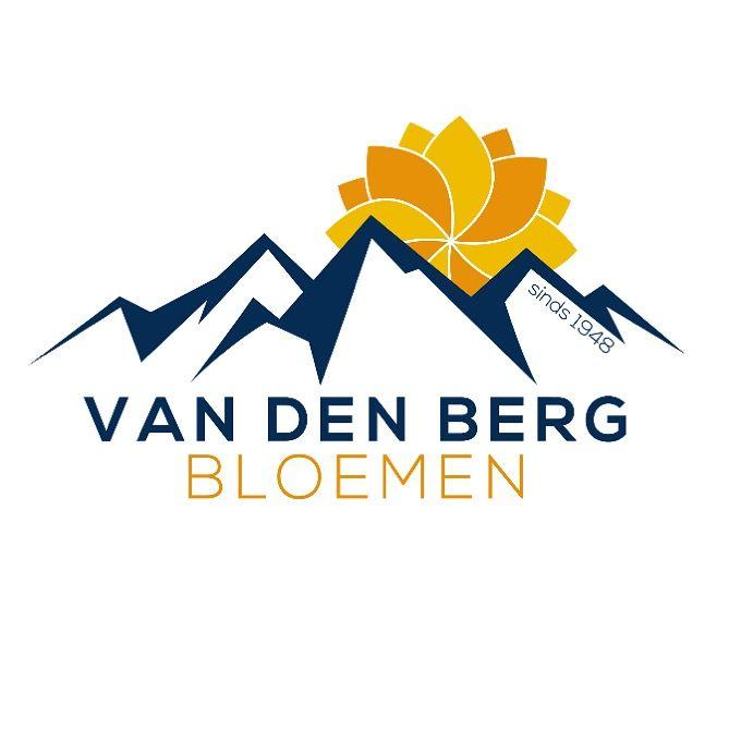 """Grafisch ontwerp logo """"Van den Berg Bloemen"""". Van harte gefeliciteerd met het nieuwe bedrijfslogo! #logo #huisstijl #design #graphicdesign #zzp #netwerken #reclame #drukwerk #marketing #branding #designer #designing #creative #logos #art #kinderen #vector #ondernemer #onderneming #school #logotype  #instacool #logodesign #designers #web #puber #starter #leren #photooftheday #picoftheday #loveit"""