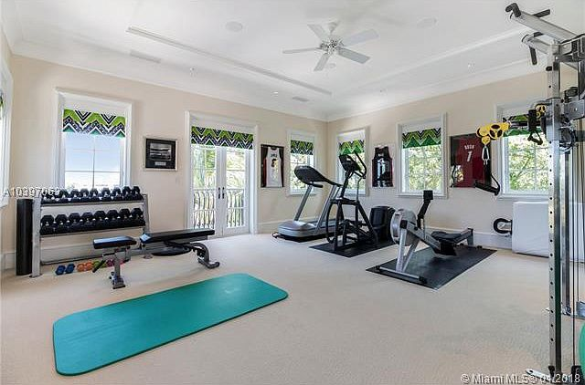 500 Arvida Pkwy Coral Gables Fl 33156 Mls A10397063 Zillow Gym Room At Home Small Home Gyms Dream Home Gym