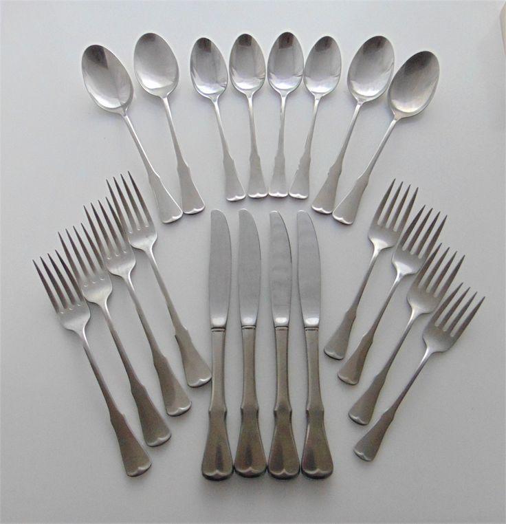 """Oneida Community /""""PATRICK HENRY/"""" *1 Dinner Fork*  7 1//4/""""  Stainless Flatware"""