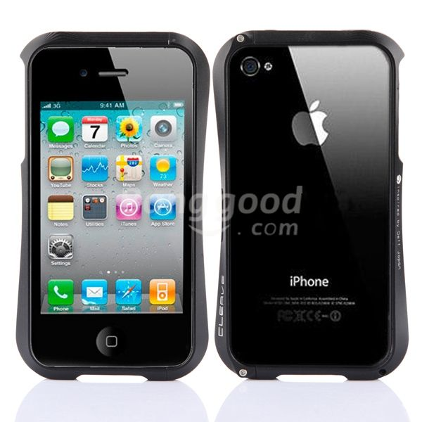 Wholesale Aluminum Cleave Metal Blade Bumper Case For iPhone 4 4S 4G