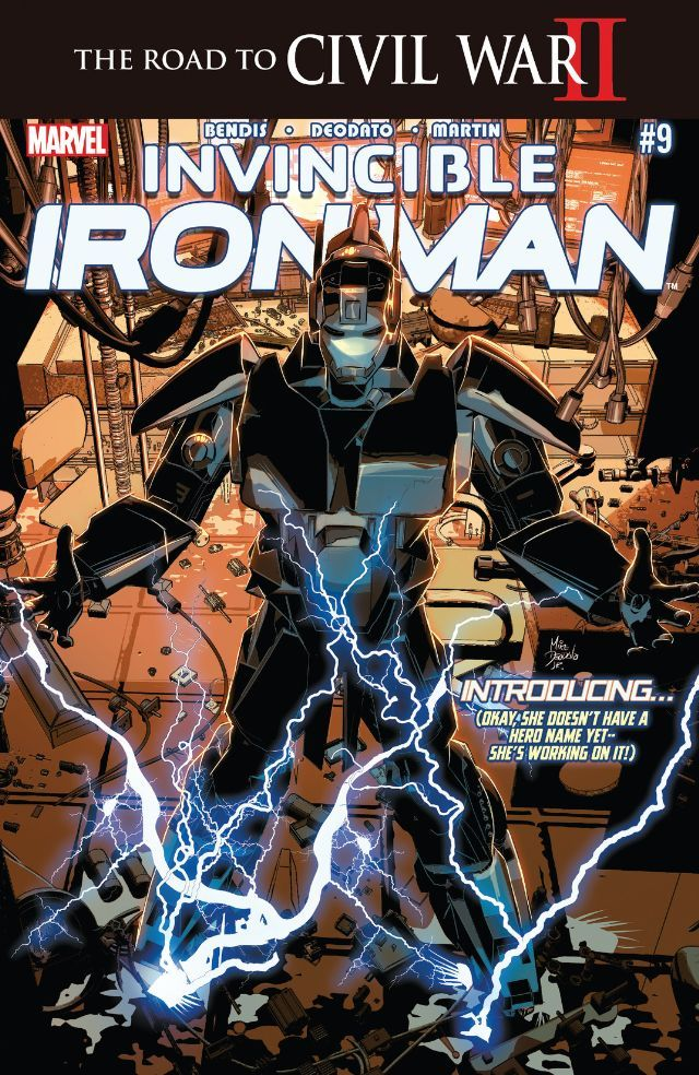 Invincible Iron Man (2015) #9 #Marvel @marvel @marvelofficial #InvincibleIronMan (Cover Artist: Mike Deodato Jr) Release Date: 5/4/2016