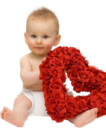 valentines day baby pictures - Google Search