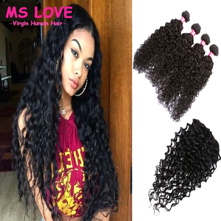Cheap Human Hair Weft with Closure, Buy Directly from China Suppliers:	Virgin…