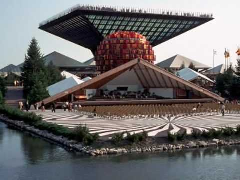 Expo 67 Montreal - YouTube (One of my more vivid childhood memories--still have my passport!)