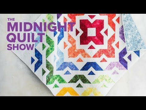 All Roads Layer Cake Quilt (Getting Ready for Quilt Festival!) | Midnight Quilt Show Season 3 Finale - YouTube