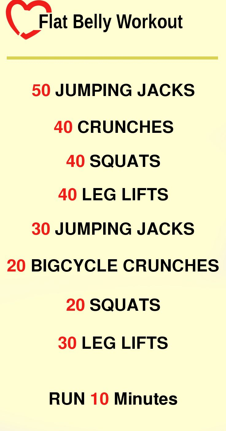 How to lose belly fat workout plan