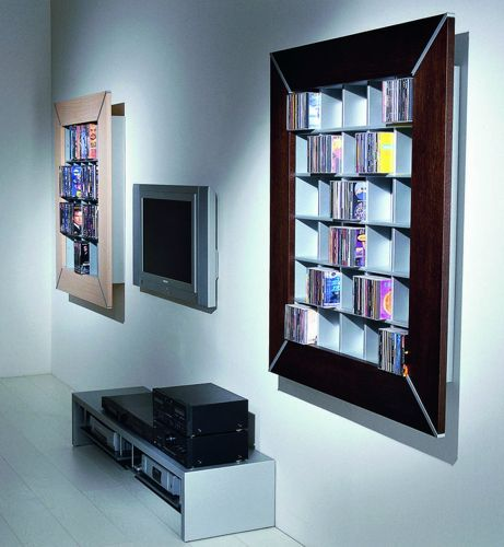 53 best Cd & Dvd Rack by Vismara Design images on Pinterest | Dvd ...