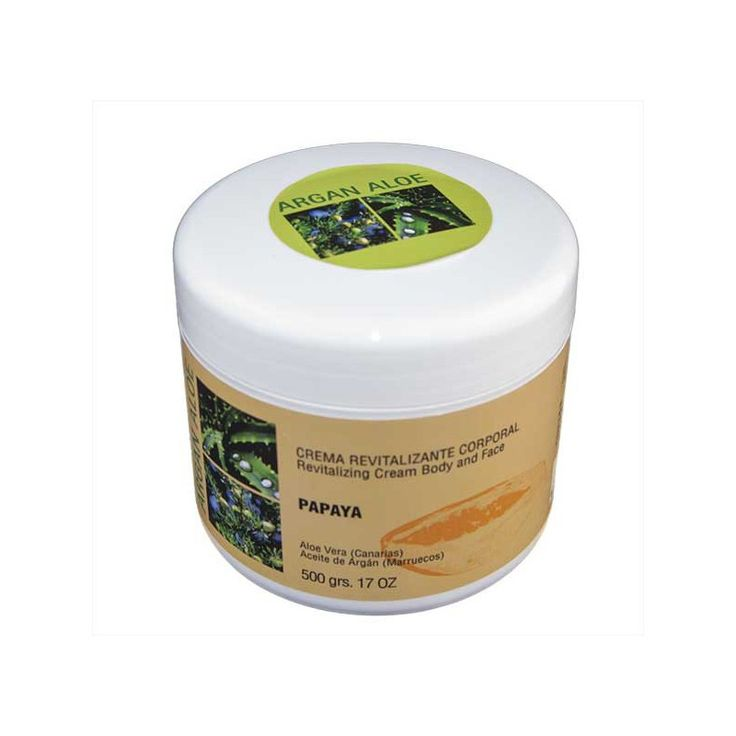 Crema corporal revitalizante Papaya