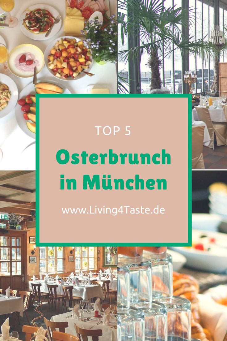 Tipps für den perfekten Osterbrunch in München. Veganer und mit Fleisch: Hier findet jeder sein perfektes Restaurant zum Frühstücken in München. Wir haben für Restaurants und Cafés rausgesucht, die an Ostern einen schönen Brunch anbieten.