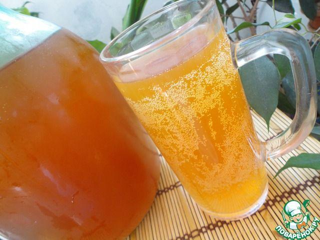 Квас хлебный с медом и изюмом ингредиенты