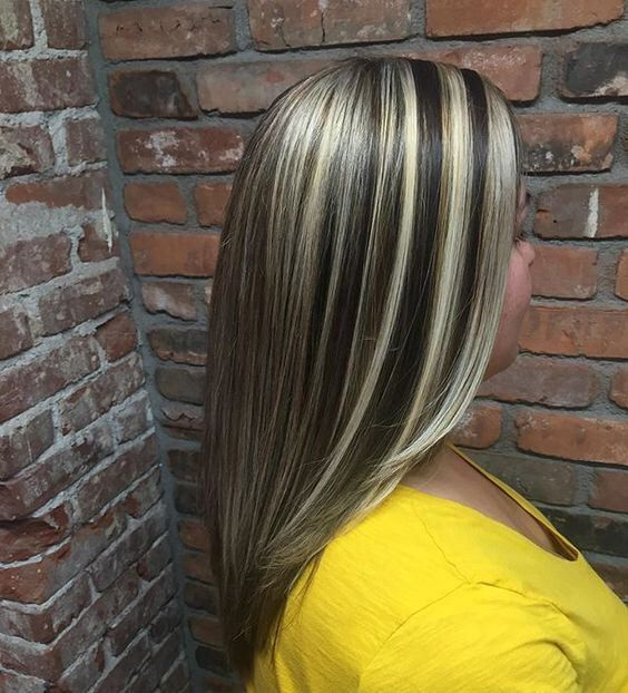 Chunky Highlights In 2019 Chunky Highlights Hair