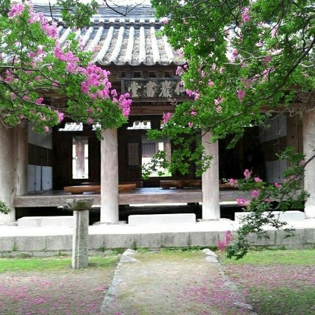 Seonarm Seowon, a private school for the study of chinese classics in Korea.