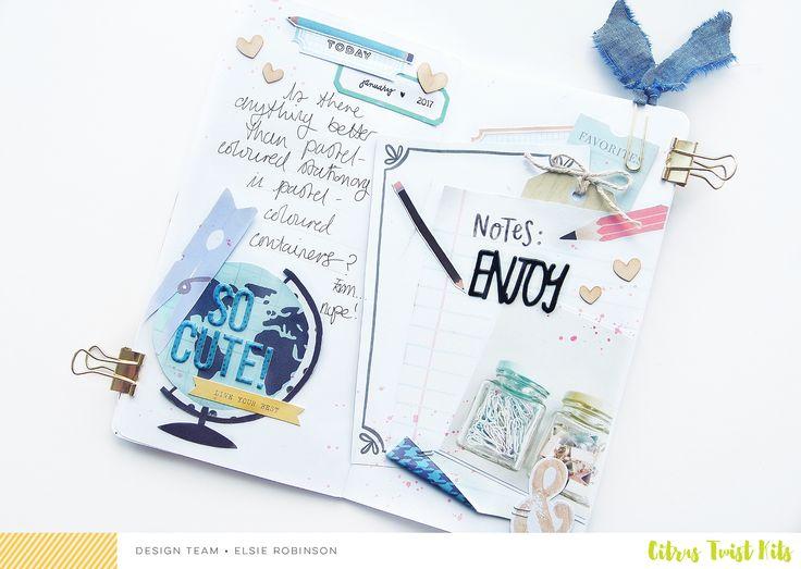 Traveler's Notebook   CTK Jameson Main Kit   Elsie Robinson