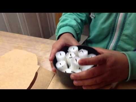Hvordan lage enkel fakkel av gamle stearinlys.