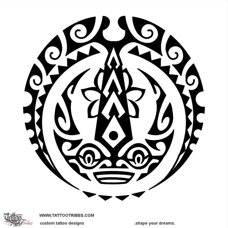 Maruwehi. Inspire. The sunmoon represents impossible becoming possible, and we designed the outer moon on top with spear heads in the middle to resemble a manta[...] More at www.tattootribes.com SHAPE YOUR DREAMS!