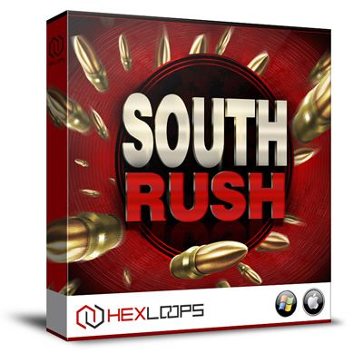 "South Rush from Hex Loops brings you 6 incredible Hip Hop Construction Kits loaded with all the essential Wav, MIDI elements to make your next ""South"" beat."