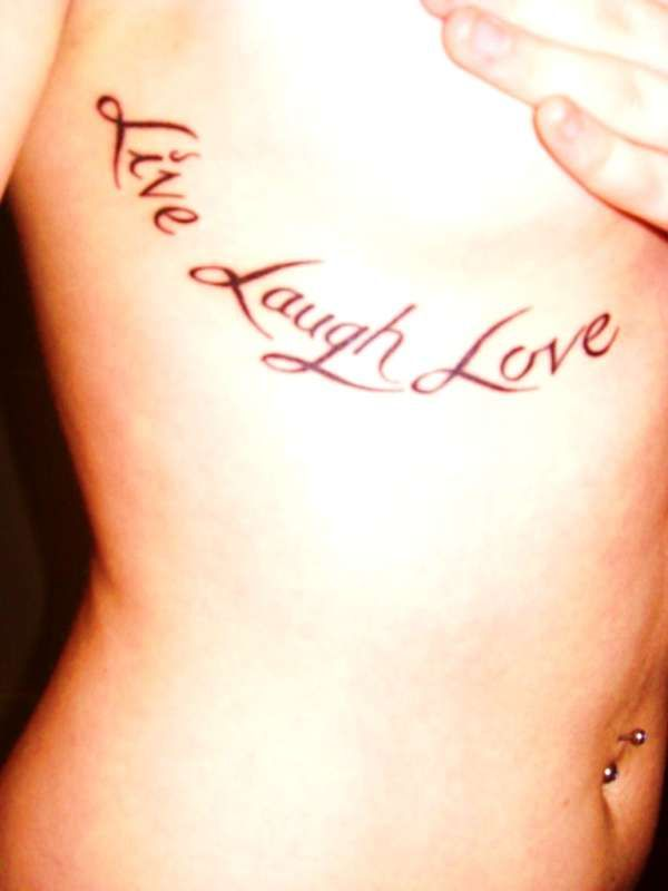 I love this saying, and am seriously thinking about getting a tattoo like this :)