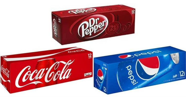 Coke, Pepsi, Dr. Pepper 12 Packs ONLY $2.22 with NO COUPONS! - http://yeswecoupon.com/coke-pepsi-dr-pepper-12-packs-only-2-22-with-no-coupons/?Pinterest