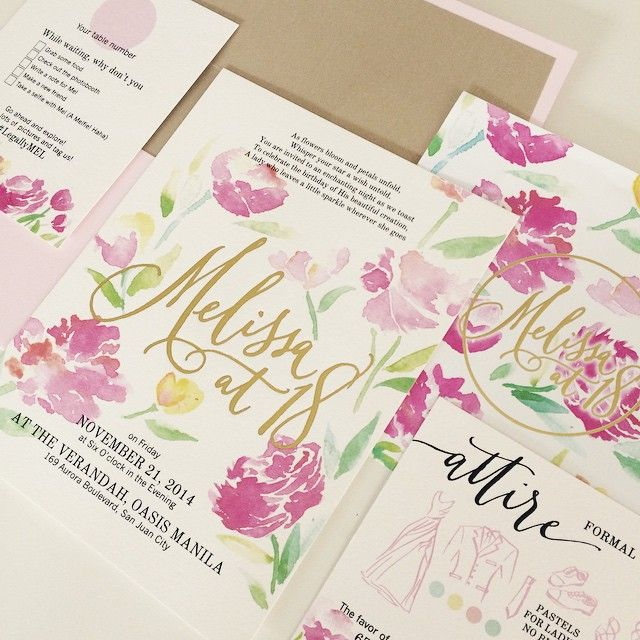 7 best images about wedding invitations on pinterest for Wedding invitations samples philippines
