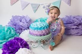 first birthday girl purple and turquoise - Buscar con Google