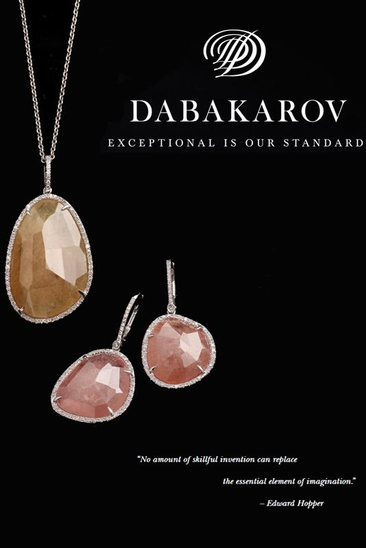 Love these hand-cut jewels from DABAKAROV? You can get them at Carats Fine Jewelry & Watches, Sarasota FL