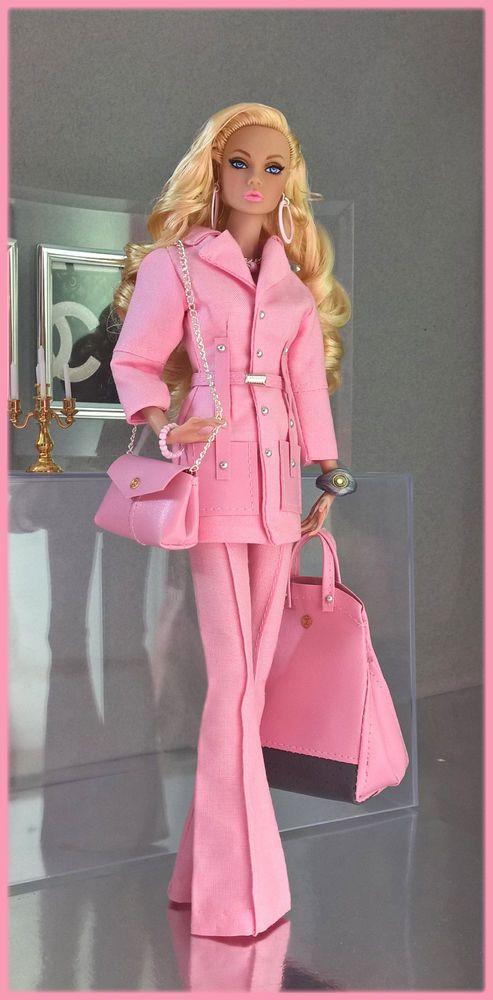 "OOAK Fashions for Silkstone / 12"" Fashion Royalty / Vintage barbie - W pockets #Lovefashion"