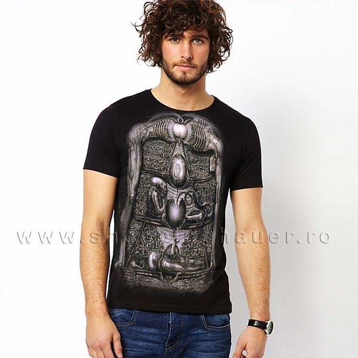 man surreal t-shirt . s-xxxl tricou barbati surreal interesant
