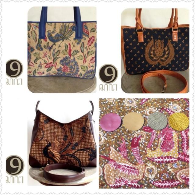 Open booking for our vintage kain batik pigeon pattern, would be lovely for our 3 style of bags by 9, you can go to www.facebook.com/oemi.vintage or Line /Hangout  mooitita for further details