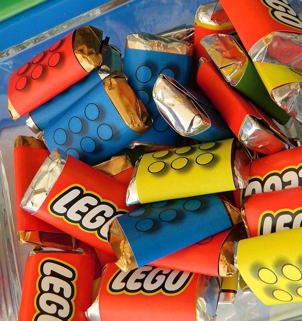 Chocolats LEGO - Anniversaire LEGO