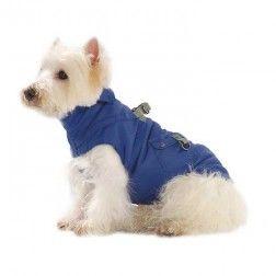 Abrigo Complice Azul Para Perro