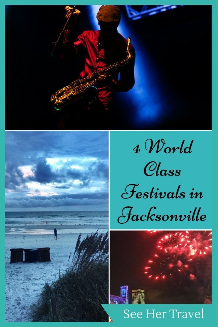 4 World Class Festivals In Jacksonville Florida Florida
