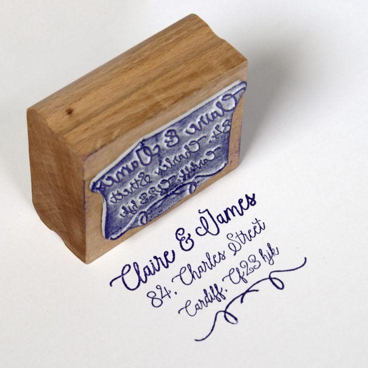 Custom address rubber stamp uk rubber stamp stamps made