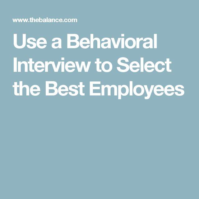 behavorial interview questions
