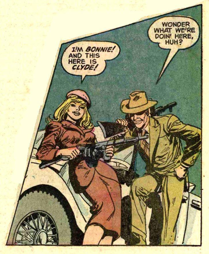 Bonnie and clyde bonnie n clyde comic book cover bonnie