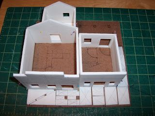 Gamer Architect: 28mm Wild West General Store, Undertaker, and Prison.
