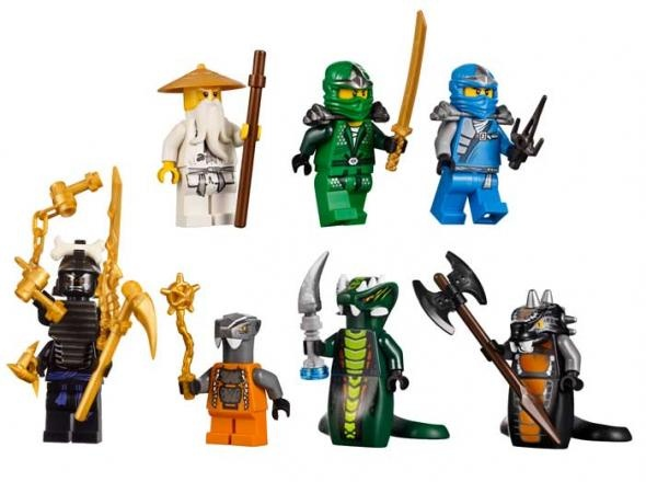 Lego Ninjago Epic Dragon Battle - For kids up to 14 years old, the set includes The Great Devourer and the snake prison. The Great Devourer has a flexible body and his mouth can be opened with enough space to devour a mini figure. The snake prison, meanwhile, has a gate that can be opened. The mini figure can also be placed in the snake venom trap. There are also weapons included, like the blue anti-venom capsule, Spinjitzu weapons and fang blade.