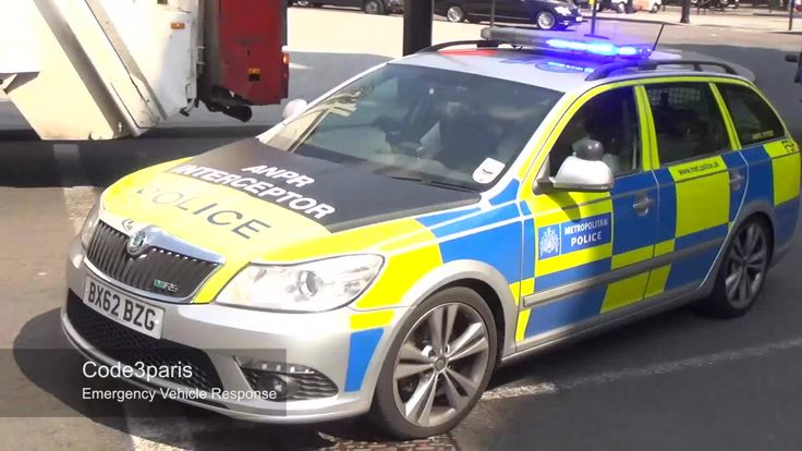 London Police Car Skoda Octavia VRS Interceptor