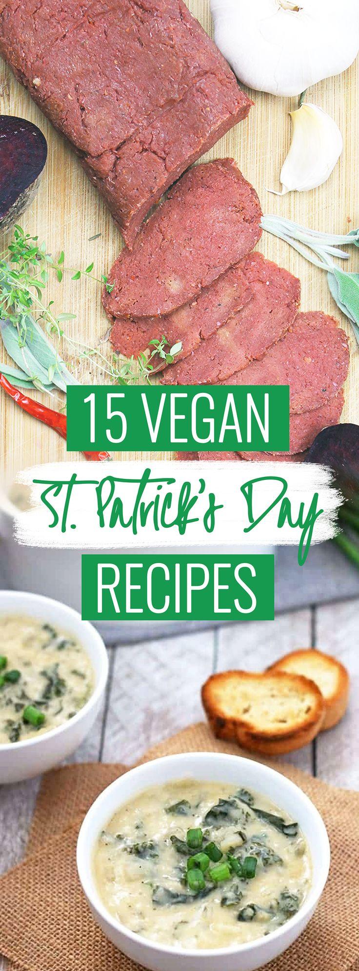 Vegan St. Patrick's Day Recipes / St. Patricks Day Recipes / Vegetarian St. Patrick's Day Recipes / Vegan Saint Patrick's Day Recipes / Vegan Saint Pattys Day / Vegan Irish Recipes / Vegan Irish Meals / Vegan Corned Beef / Vegan Corned Beef Hash / Saint Patricks Day Dinner / Saint Patricks Day Desserts / St Patrick's Day Dinner