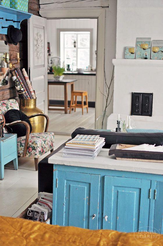 L U N D A G Å R D | inredning, familjeliv, byggnadsvård, lantliv, vintage, färg & form: Vardagsrum