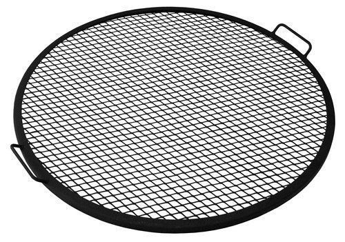This metal mesh cooking grate is a simple and efficient way to grill food on your fire pit. Offered in multiple sizes, this grate is sure to fit any needs you customer may have. This grate is made wit